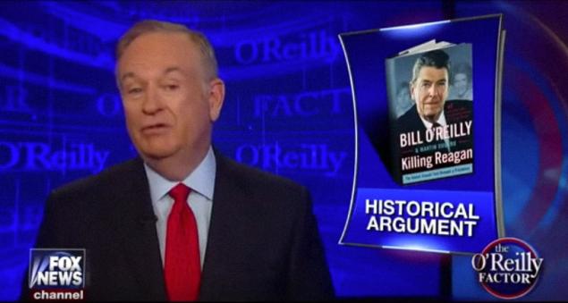 A screenshot of Mr. O'Reilly's segment last night.