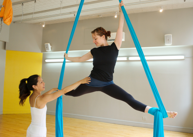 Circus-style classes help you become the contortionist of your dreams (Photo: OM Factory NYC).