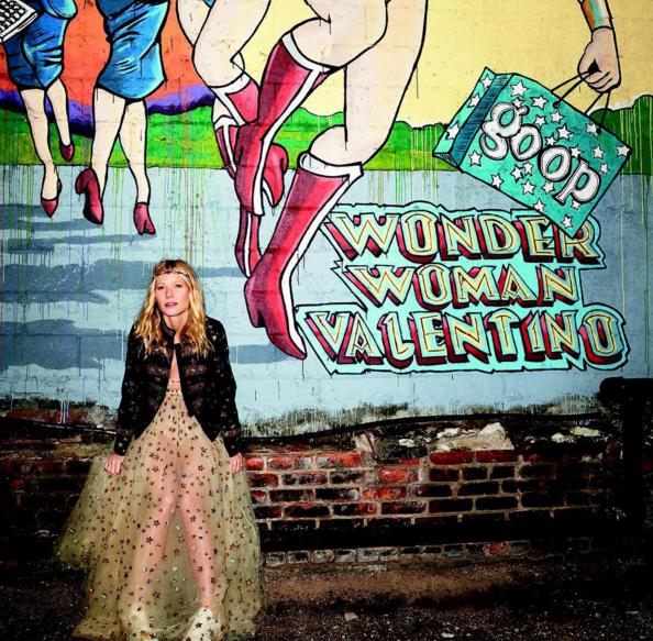 Gwyneth announces the goop mrkt and Valentino collab on Instagram (Photo: Gwyneth Paltrow).