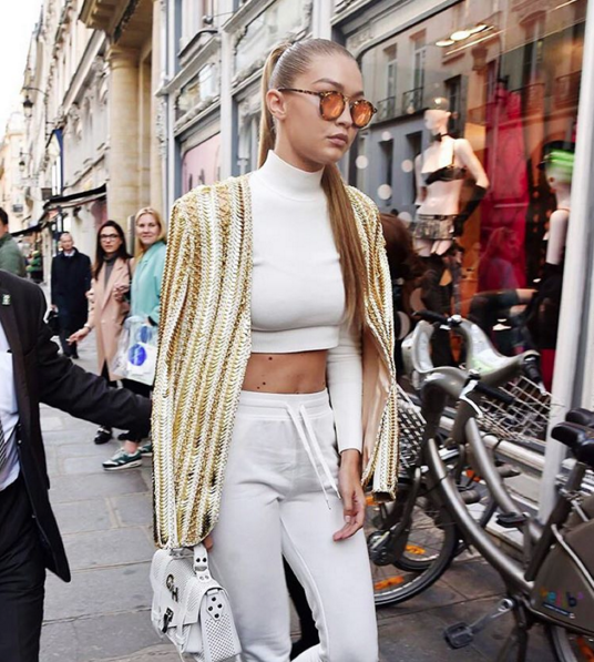 Gigi Hadid joins the krewe (Photo: Krewe du Optic).