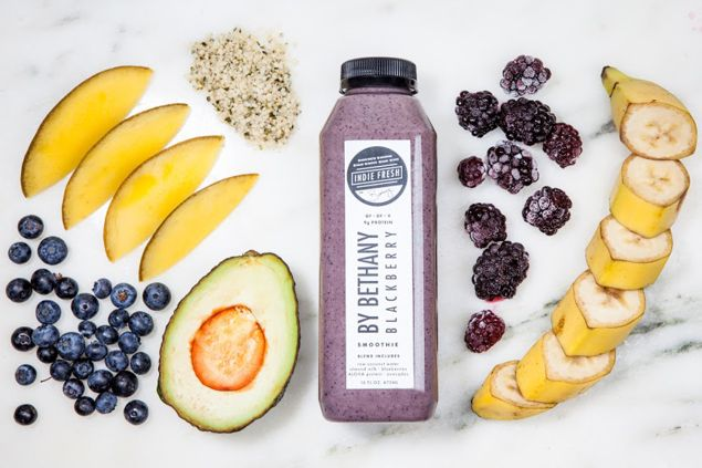 Indie Fresh juice and nibbles (Photo: Courtesy Indie Fresh).