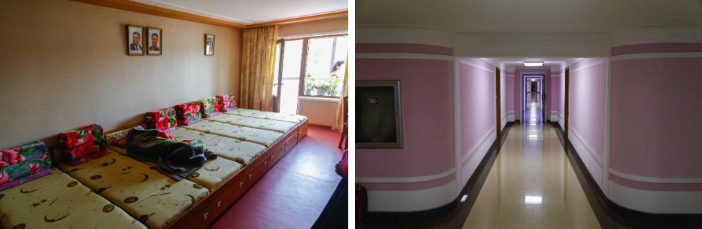 Textile factory dorm rooms