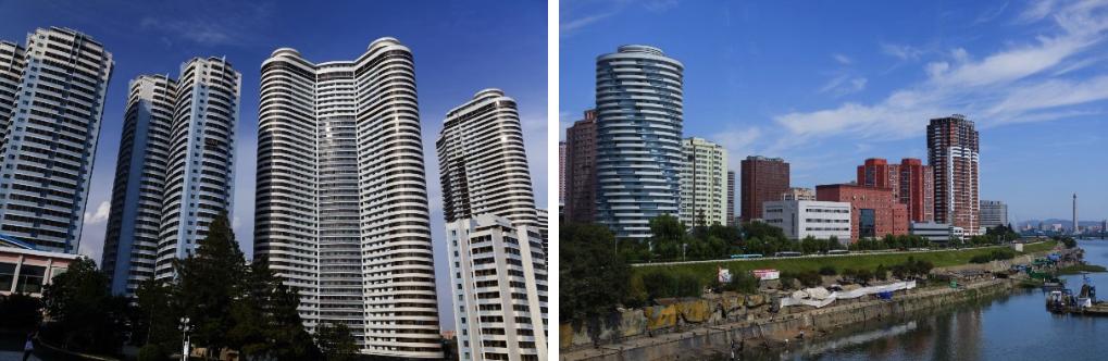 High-rise housing in Pyongyang