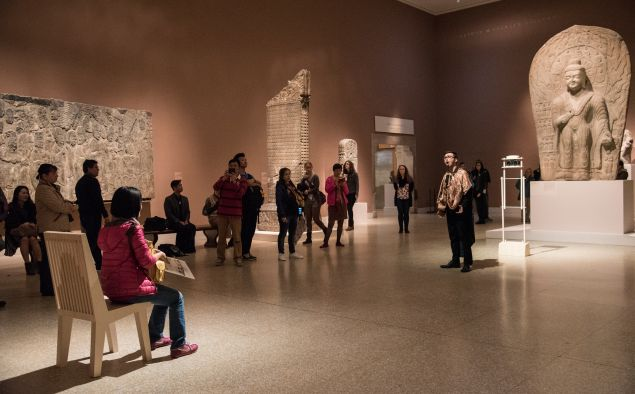 Lee Mingwei's Sonic Blossom will be performed at the Metropolitan Museum of Art through November 8. (Photo: Anita Kan)