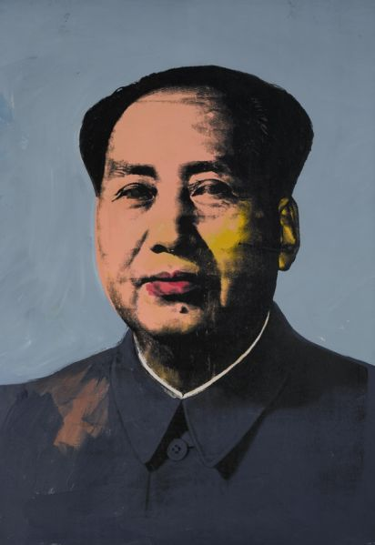 Andy Warhol's Mao from 1972. (Photo: Courtesy of Sotheby's)