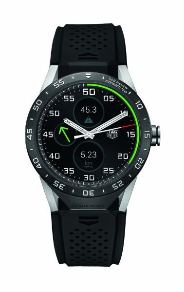 Connected (Photo: Courtesy Tag Heuer).