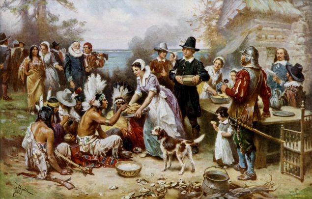 Inviting strangers to Thanksgiving is an American tradition.