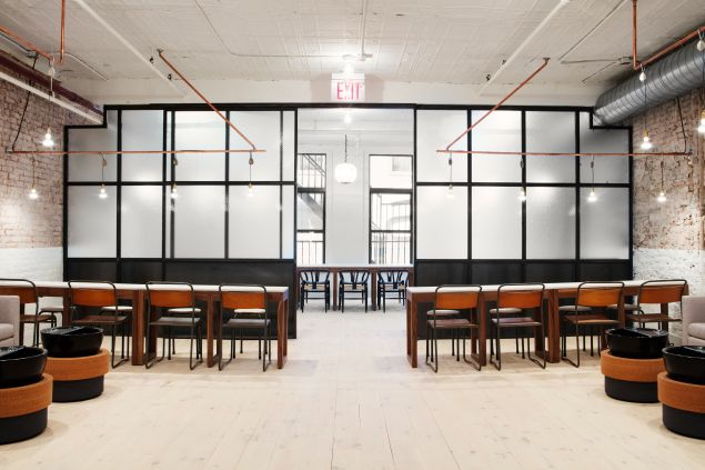 Tenoverten's back space, which is perfect for meetings (Photo: Courtesy Tenoverten).