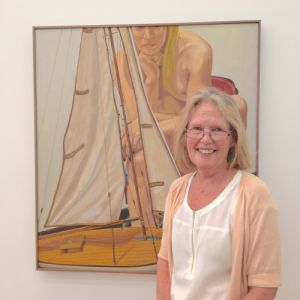 """Betty Cunningham moved her gallery from Chelsea to the Lower East Side citing """""""". (Photo: Courtesy of the ADAA)"""