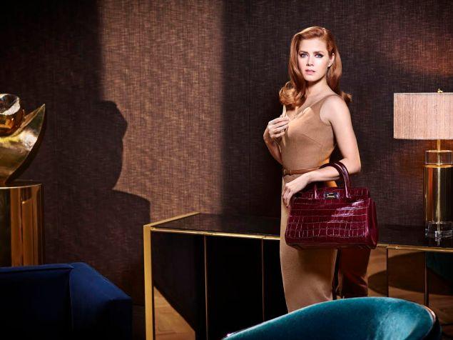 Amy Adams with the New Hollywood Bag (Photo: Courtesy Max Mara).