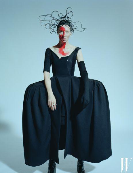 Cate Blanchett in W (Photo: Courtesy W).