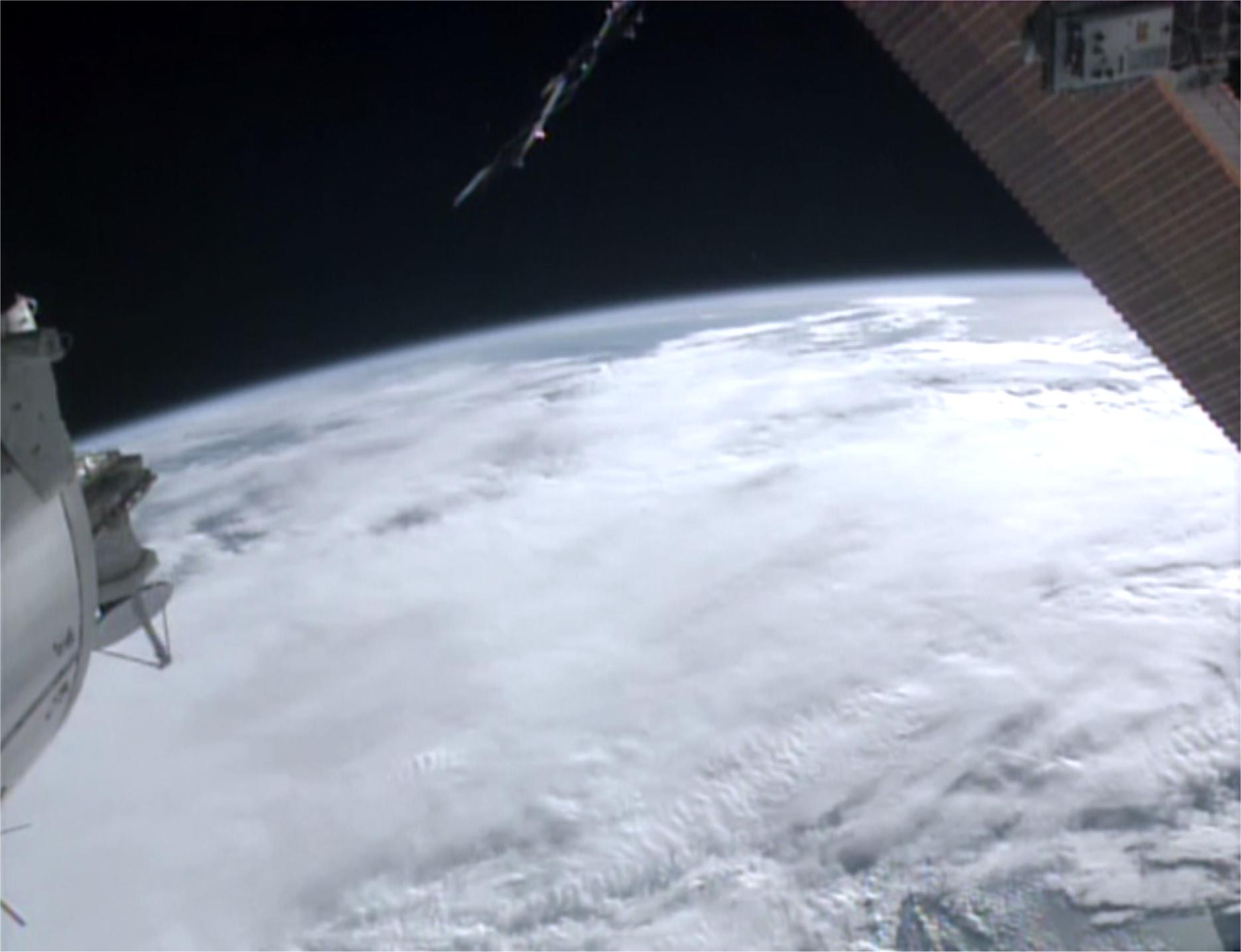 (Photo: NASA / ESA and the International Space Station crew.)