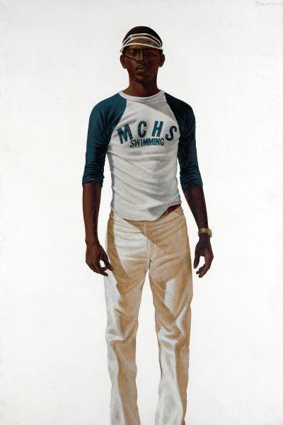 Barkley L. Hendricks, Tuff Tony, 1978. $365,000 (Photo: Swann Auction Galleries)