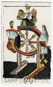 UNSPECIFIED - CIRCA 1754: Tarot card. The Juggler or Mountebank. Parisian Tarot 1500. Tarot pack of 22 cards was used in fortune telling. (Photo by Universal History Archive/Getty Images)