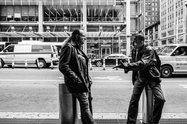 Conversation. (Photo: Jim Pennucci/ Flickr)