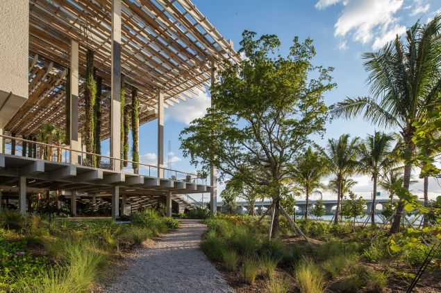 The Perez Art Museum Miami.