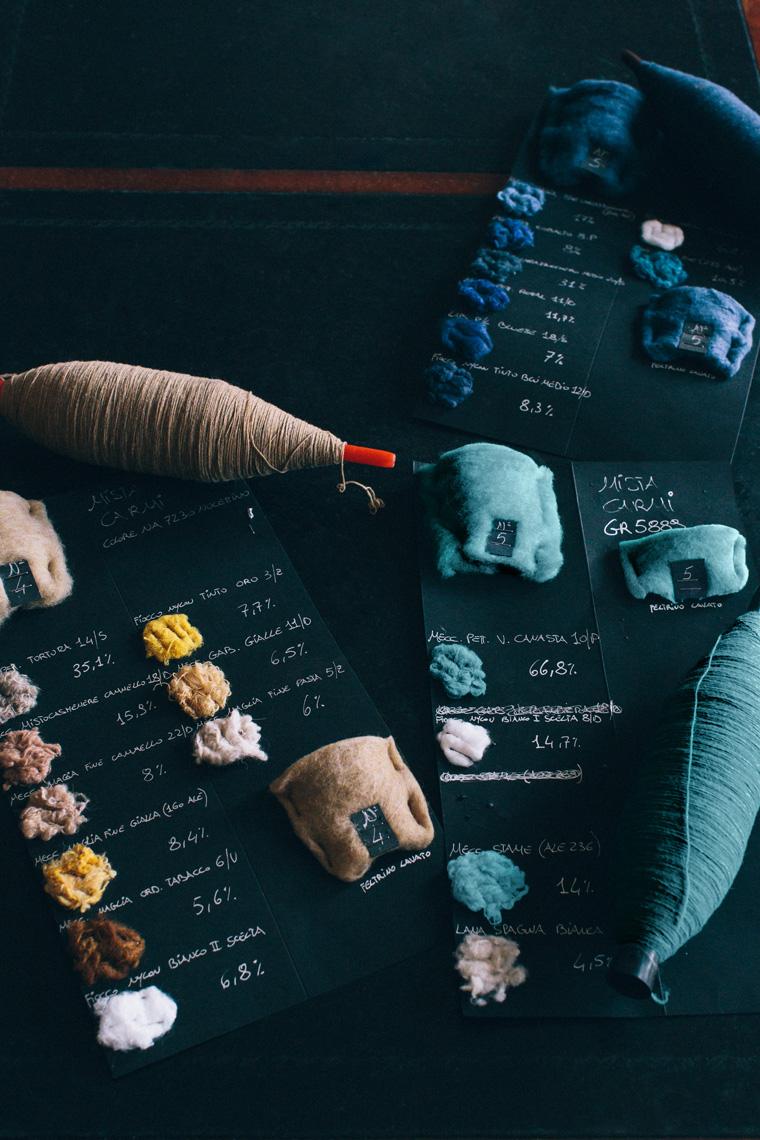 Wool from Italy's Carmignano Mill (Photo: J. Crew).