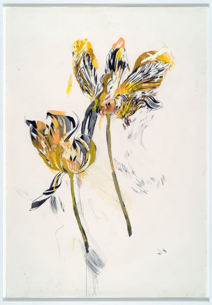 Tulipomania by Wardell Milan. (Photo: Courtesy of the artist and David Nolan Gallery)