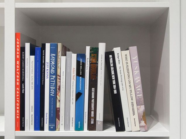 Holiday Pop-Up Bookstore at David Zwirner Books. (Photo: Courtesy David Zwirner)