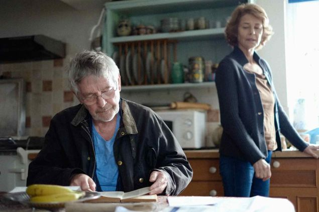 Tom Courtenay and Charlotte Rampling in 45 Years.