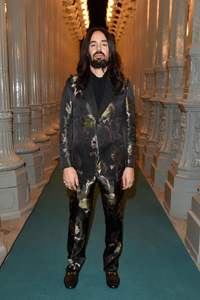 attends LACMA 2015 Art+Film Gala Honoring James Turrell and Alejandro G Iñárritu, Presented by Gucci at LACMA on November 7, 2015 in Los Angeles, California.