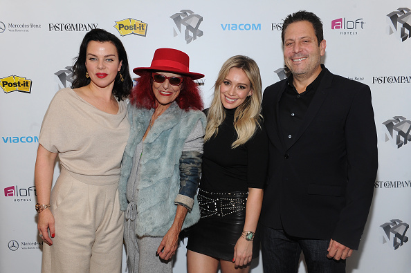Patricia Field posing with the cast of Younger (Photo by Craig Barritt/Getty Images for Fast Company)
