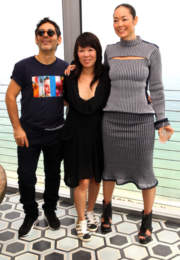 Description - MIAMI BEACH, FL - DECEMBER 03: Cecilia Dean and James Kaliardos attends Spotify Brunch hosted by Cecilia Dean & James Kaliardos of Visionaire @ Soho Beach House during Art Basel Miami 2015 at Soho Beach House on December 3, 2015 in Miami Beach, Florida. (Photo by Astrid Stawiarz/Getty Images for Soho House & Co)