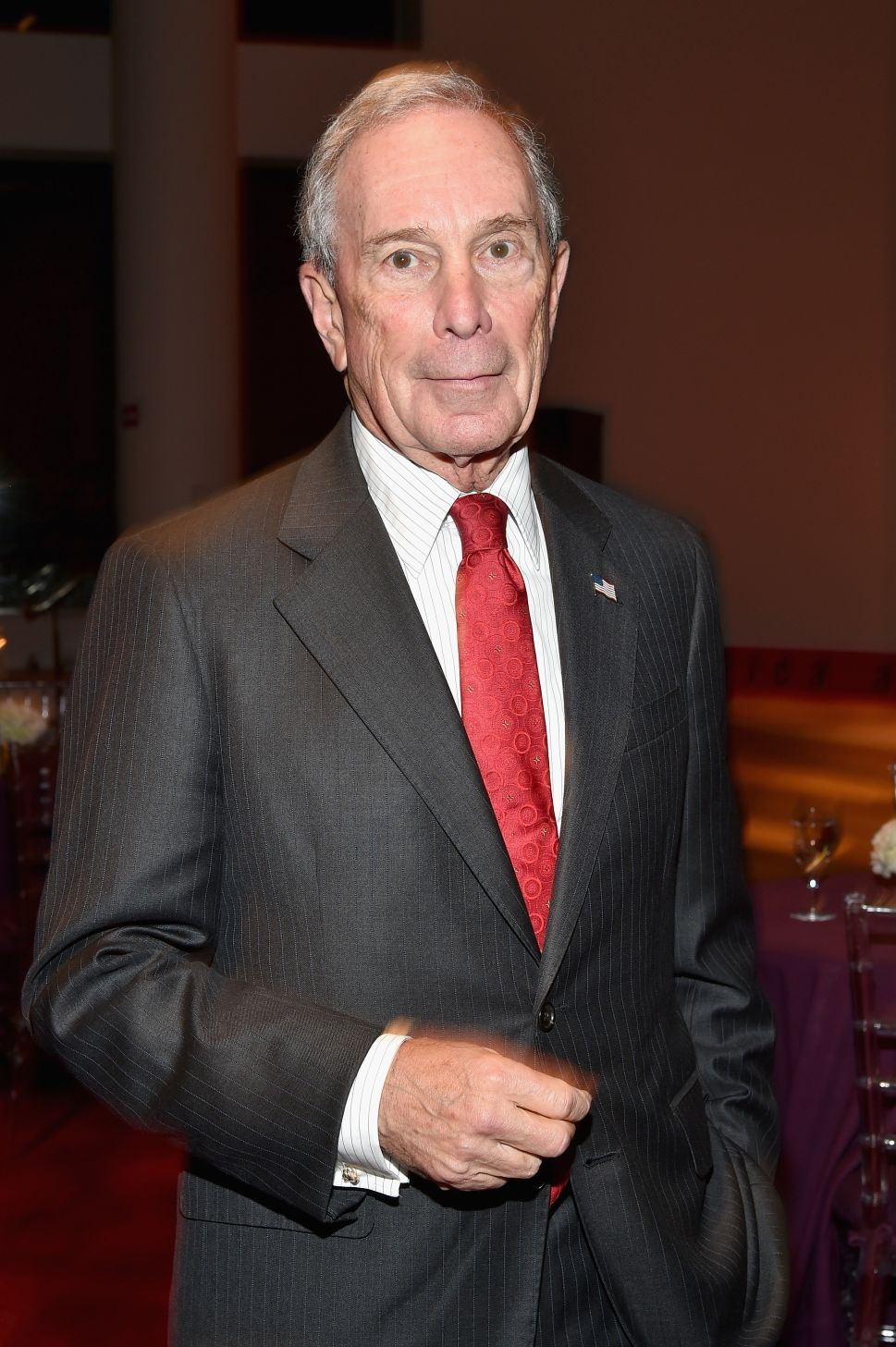 Mayor Michael Bloomberg (Photo by Mike Coppola/Getty Images for Jazz at Lincoln Center).