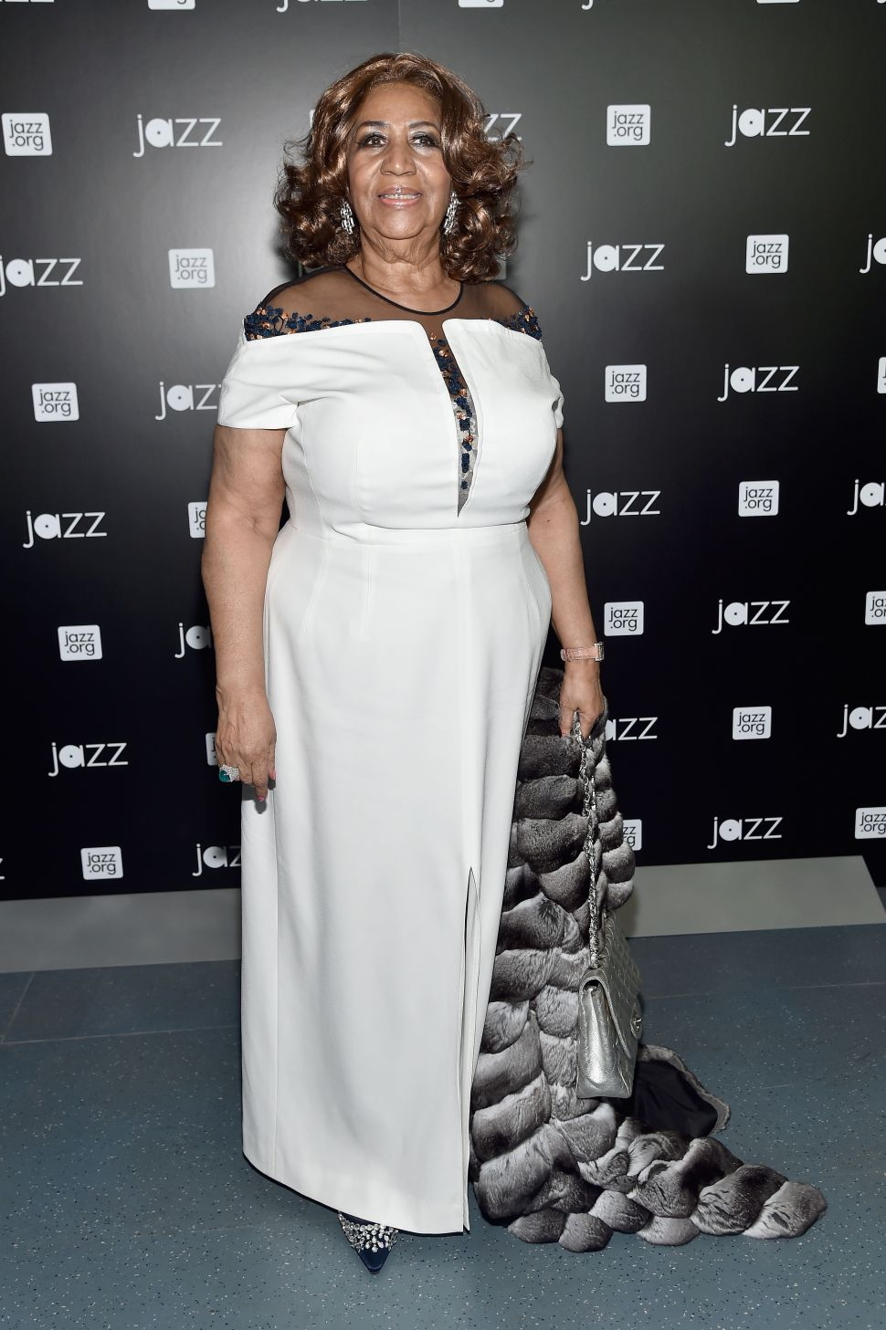 Aretha Franklin (Photo by Mike Coppola/Getty Images for Jazz at Lincoln Center).