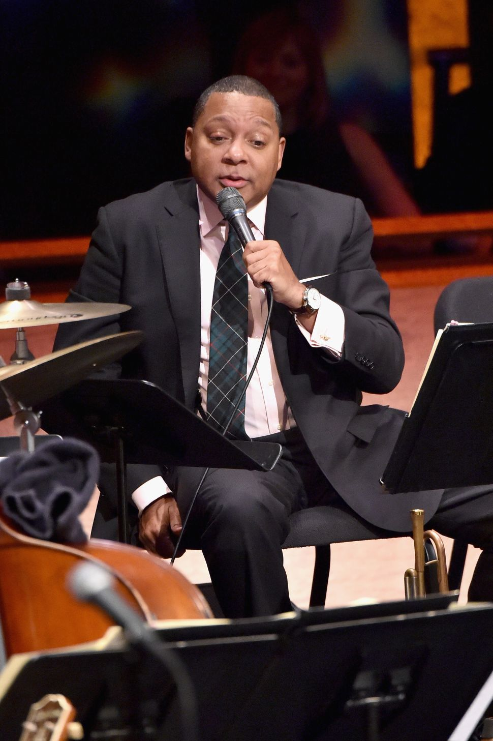 Wynton Marsalis (Photo by Mike Coppola/Getty Images for Jazz at Lincoln Center),