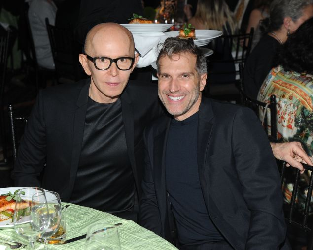 James Gager and Richard Ferretti have sold the Greenwich Village townhouse once inhabited by Emily Post. (Owen Hoffmann/Patrick McMullan)