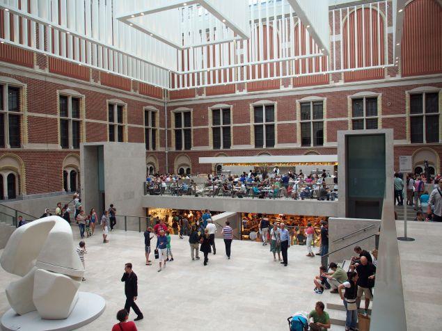 The atrium of the Rijksmuseum in Amsterdam. (Photo: Wikimedia Commons)