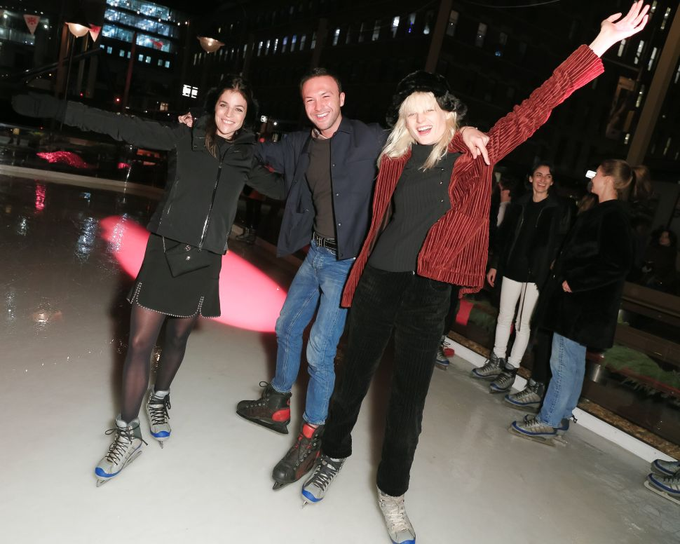 Julia Restoin Roitfeld, Tom Van Dorpe, Hanne Gaby Odiele (Photo: Matteo Prandoni for BFA).