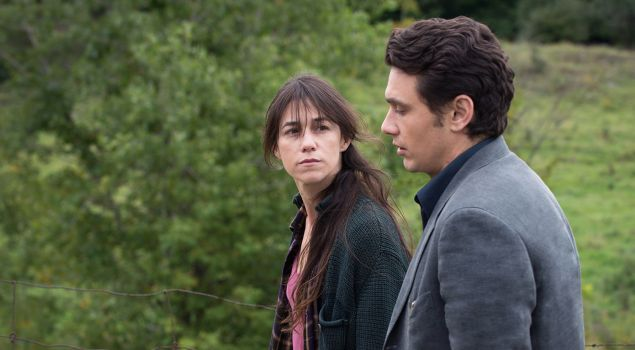 Charlotte Gainsbourg and Jams Franco in Everything Will Be Fine.