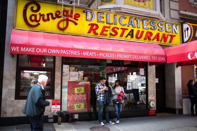 New York City's Famed Carnegie Deli