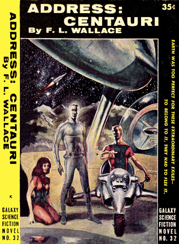 Address: Centauri cover, for the Galaxy Science Fiction paperback edition. (Image: Project Gutenberg)