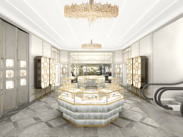 Another view of the jewelry section (Photo: Courtesy Bergdorf Goodman).