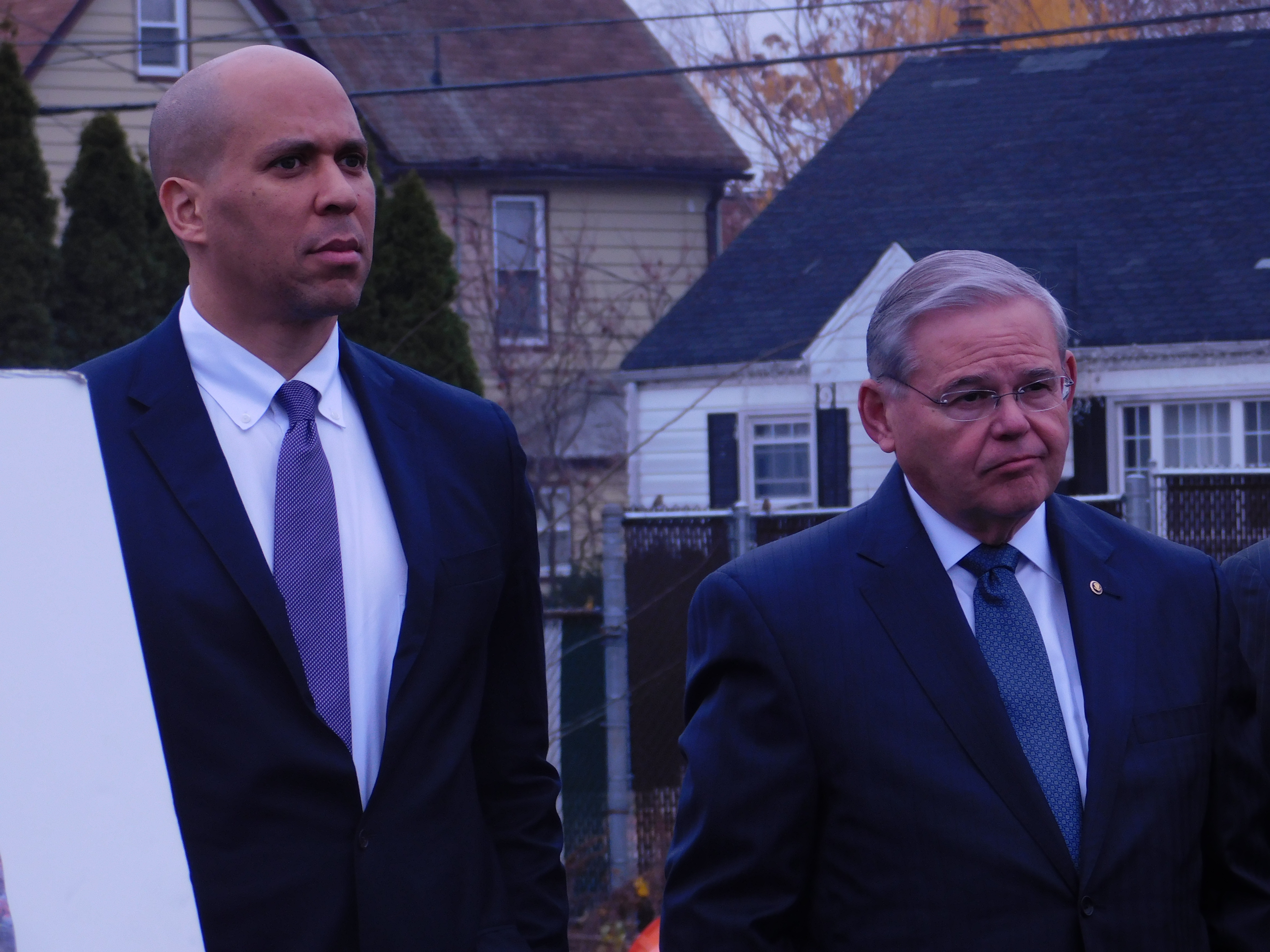 Booker and Menendez did not support DeVos.