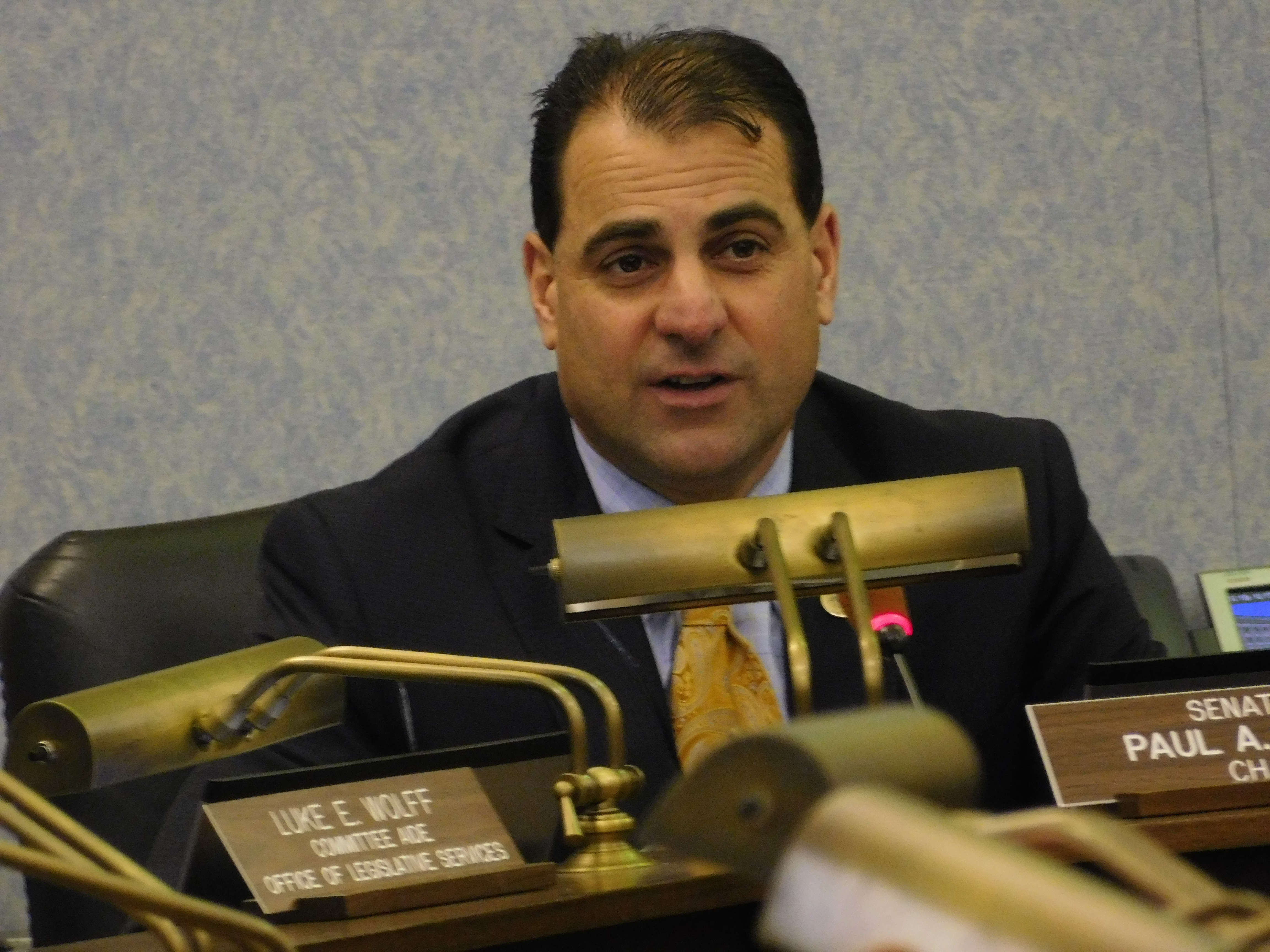 Senate Budget and Appropriations Chair Paul Sarlo (D-36)