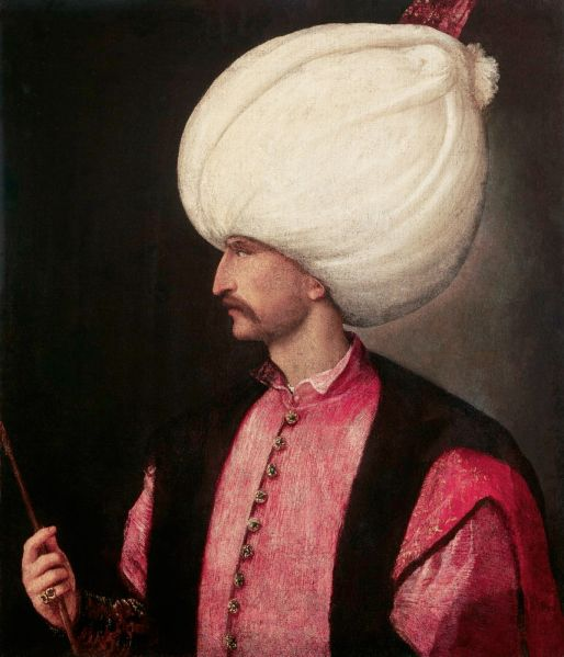 A portrait of Suleiman the Magnificent, attributed to Titian, (1530). (Photo: Wikimedia Commons)