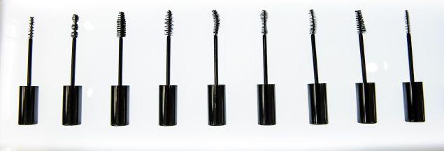 The selection of mascara wands (Photo: Courtesy Eyeko).