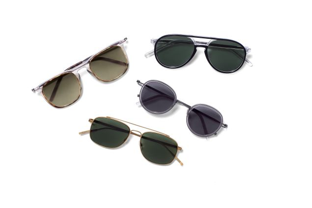 The first eyewear collection from Tomas Maier (Photo: Courtesy Tomas Maier).