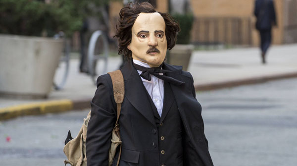 "THE FOLLOWING: One of Joe Carroll's followers disguises himself as Edgar Allan Poe to commit a crime in the ""The Poet's Fire"" episode of THE FOLLOWING airing Monday, Feb. 4 (9:00-10:00 PM ET/PT) on FOX. ©2013 Fox Broadcasting Co. CR: David Giesbrecth/FOX"