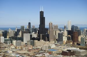 Chicago is a toddlin' town- and a PR mecca.(Photo by Saul Loeb/Getty Images)