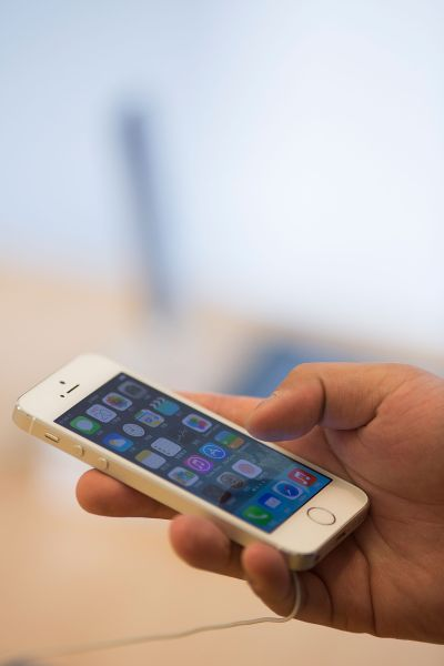 Could the iPhone be shrinking back down to 5s size? (Photo by Lam Yik Fei/Getty Images)