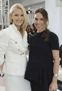 NEW YORK, NY - SEPTEMBER 10: CEOs of the Editorialist Kate Davidson Hudson and Stefania Allen attend the Delpozo fashion show during Mercedes-Benz Fashion Week Spring 2015 at Location 05 Studios on September 10, 2014 in New York City. (Photo by Vivien Killilea/Getty Images)