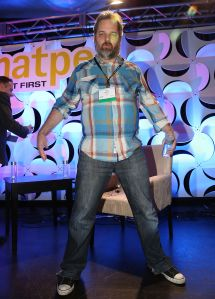 MIAMI BEACH, FL - JANUARY 21: Dan Harmon attends storytellers and the Shaping of Pop Culture: A Chat With Dan Harmon at NATPE 2015 at Fontainebleau Miami Beach on January 21, 2015 in Miami Beach, Florida. (Photo by Aaron Davidson/Getty Images)