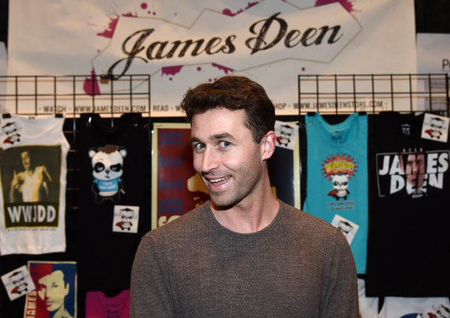 Adult film actor/director James Deen attends the 2015 AVN Adult Entertainment Expo at the Hard Rock Hotel & Casino on January 22, 2015 in Las Vegas, Nevada. (Photo by Ethan Miller/Getty Images)