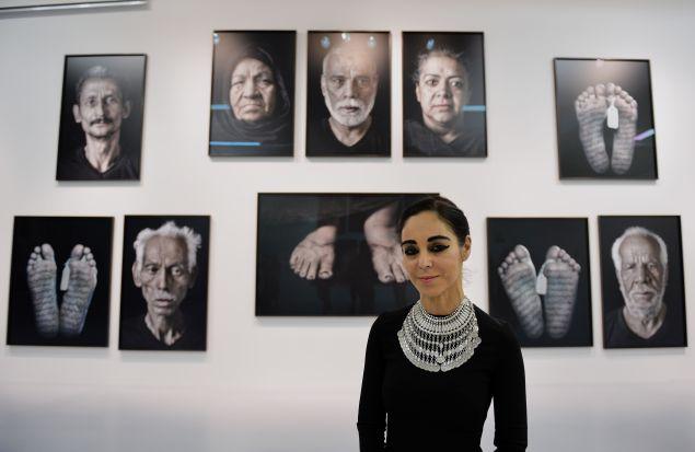 Iraninan-born artist and filmmaker Shirin Neshat (STAN HONDA/AFP/Getty Images)