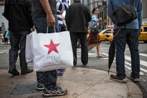 A Macy's customer was detained for three hours in the store last July (Photo by Andrew Burton/Getty Images).